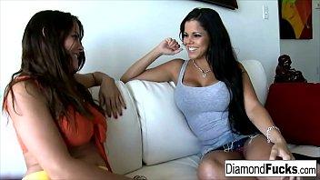 Diamond Kitty y Heather Silk Porno Lésbico 1080p