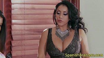 Trío de video de sexo de mujer venezolana